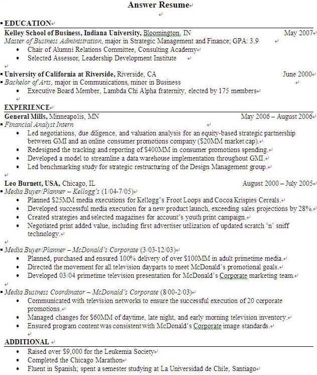 what is the objective for a resume free resume template