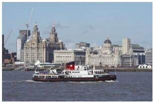 Ferry ride on the Mersey River