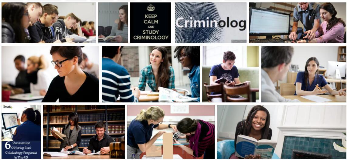 Study Criminology