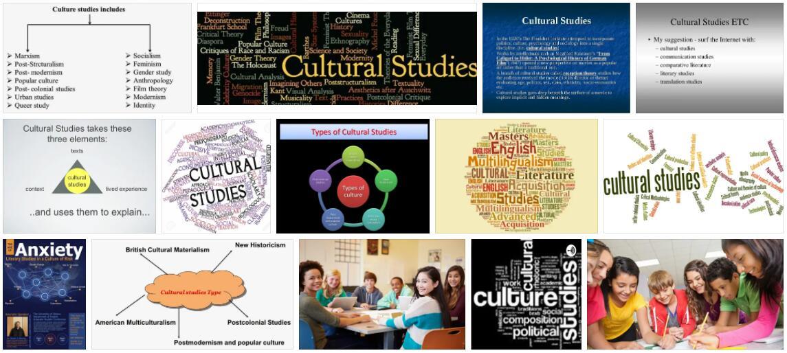 Study Cultural Studies