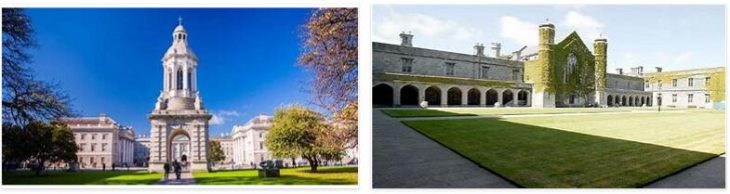 Services Offered by Universities in Ireland