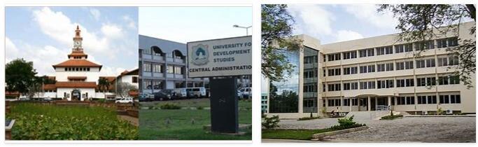 University Landscape in Ghana