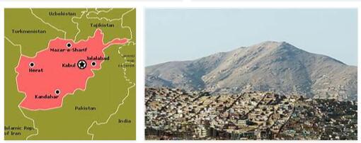 Afghanistan Main Cities