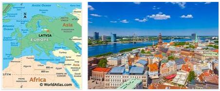 Attractions in Latvia