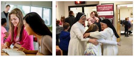Virginia Education and Religion